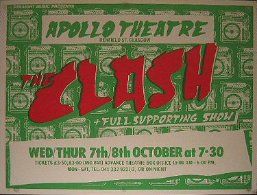 <SPAN class=pagecontent><FONT class=MenuHeadingBar>The Clash 7th/8th October 1981</FONT></SPAN>