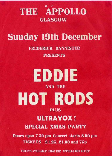 Eddie And The Hot Rods Ultravox 1976