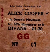 Alice Cooper - The Phlorescent Leech and Eddie - 10/11/1972