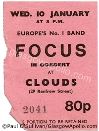 Focus - Harvey Andrews - 10/01/1973