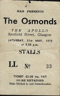 The Osmonds - 31/05/1975