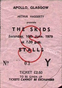 The Skids - The Edge - 16/06/1979