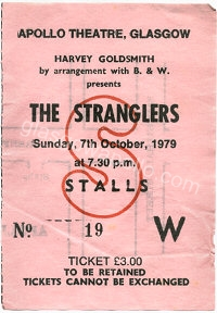 The Stranglers - The Curves - 07/10/1979