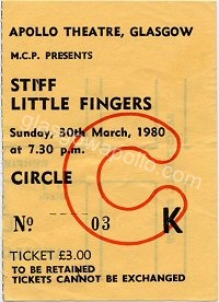 Stiff Little Fingers - Another Pretty Face - 30/03/1980