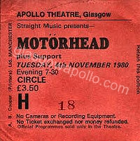 Motörhead - Weapon - 04/11/1980