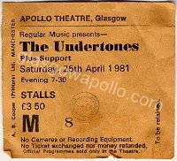 The Undertones - Tv 21 - 25/04/1981