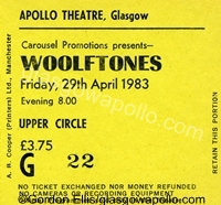 The Wolftones - 29/04/1983