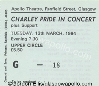 Charley Pride - Texas Vocal Co. - 13/03/1984