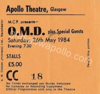 OMD - Fiction Factory - 26/05/1984