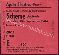 Scheme - New Day - The Condemned - 08/09/1984
