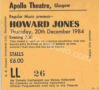 Howard Jones - Strawberry Switchblade - 20/12/1984